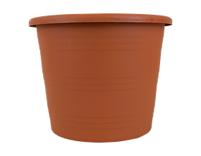 Wholesale Round Plastic Plant Pots | Gem Imports Ltd