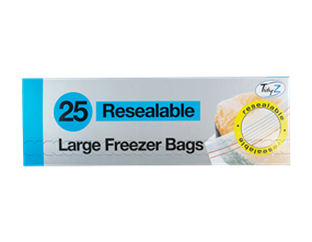 Wholesale Resealable Food & Freezer Bags | Gem Imports Ltd
