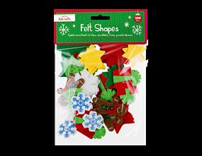 Christmas Craft Felt Pieces