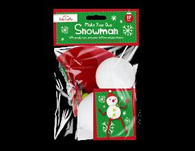 Christmas Craft Snowman