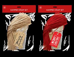 Wholesale Christmas Hamper Wrap Sets   Gem Imports Ltd