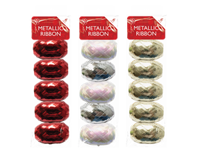 Christmas Metallic Ribbons