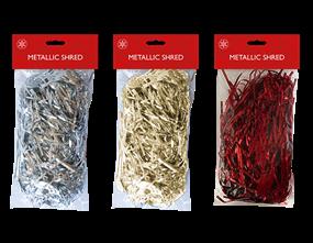 Wholesale Christmas Metallic Shred | Gem Imports Ltd