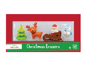 Wholesale Christmas Novelty Eraser Sets | Gem Imports Ltd