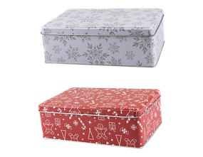 Wholesale Christmas Storage Tins | Gem Imports Ltd