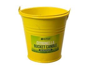 Wholesale Citronella Bucket Candles | Gem Imports Ltd