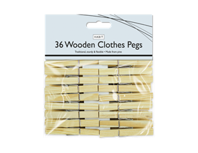 Wholesale Wooden Clothes Pegs | Gem Imports Ltd