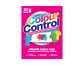 Colour Control Laundry Sheets - 20 Pack