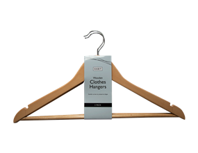 Wholesale Wooden Hangers | Gem Imports Ltd