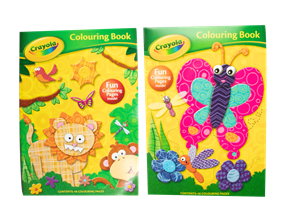 Wholesale Crayola Colouring Books | Gem Imports Ltd