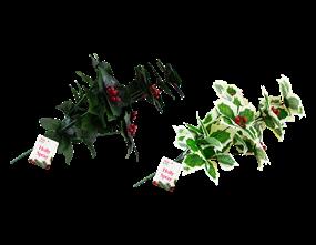 Wholesale Decorative Christmas Holly Spray | Gem Imports Ltd