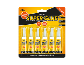 Super Glue 3g - 6 Pack