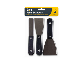 Paint Scrapers - 3 Pack