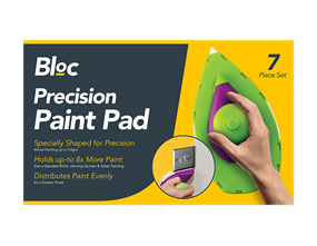 Precision Paint Pad Set - 7 Piece