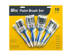 Paint Brushes Set - 10 Pack