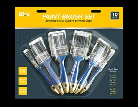 Paint Brushes Set - 10 Pack