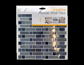 Wholesale Grey Self Adhesive Mosaic Wall Tiles | Gem Imports Ltd