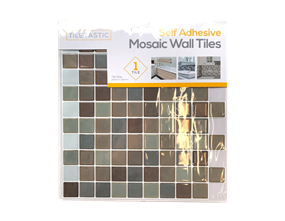 Wholesale Blue Self Adhesive Mosaic Wall Tiles | Gem Imports Ltd