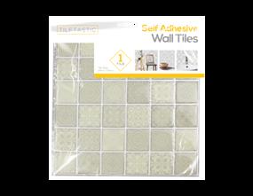 Wholesale Grey Mini Patterned Wall Tile Stickers | Gem Imports Ltd