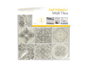 Wholesale Grey Mosaic Patterned Wall Tile Stickers | Gem Imports Ltd