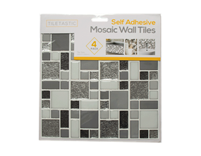 Wholesale Grey Glitter Wall Tile Stickers | Gem Imports Ltd