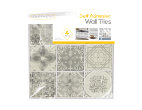 Wholesale Grey Mosaic Patterned Self Adhesive Wall Tile | Gem Imports Ltd