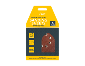 Wholesale Hook & Loop Palm Sanding Sheets | Gem Imports Ltd