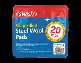 Soap Filled Steel Wool Pads