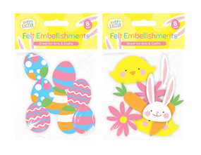 Wholesale Easter Felt Embellishments | Gem Imports Ltd