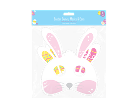 Wholesale Easter Bunny Paper Mask & Ears | Gem Imports Ltd