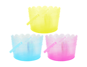 Wholesale Plastic Easter Treat Buckets | Gem Imports Ltd