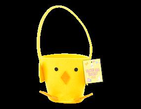 Wholesale Easter Felt Chick Treat Buckets | Gem Imports Ltd