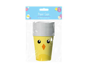 Wholesale Easter Disposable Paper Cups | Gem Imports Ltd