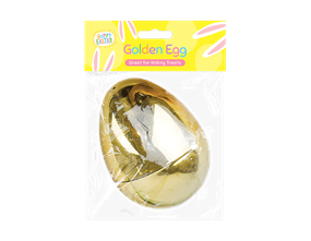 Wholesale Large Golden Refillable Easter Eggs | Gem Imports Ltd