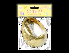 Wholesale Large Golden Refillable Easter Eggs | Gem Imports Ltd