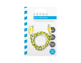 Wholesale Micro Braided USB Cables | Gem Imports Ltd