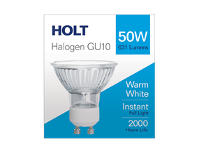 GU10 Halogen Light Bulb 50w