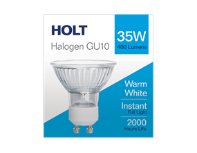 GU10 Halogen Light Bulb 35w