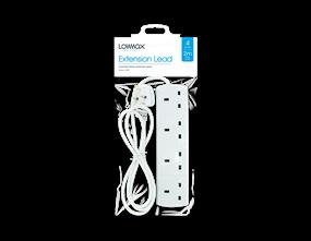 4 Socket Extension Lead 2m