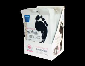 Wholesale Escenti Bamboo Charcoal Foot Masks   Gem Imports Ltd