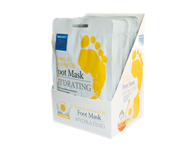 Wholesale Escenti Honey & Almond Foot Masks | Gem Imports Ltd
