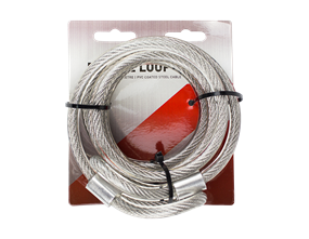 Double Loop Cable 2m x 1cm