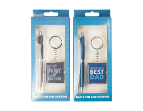 Wholesale Fathers Day Pen & Keychain Gift Sets | Gem Imports Ltd