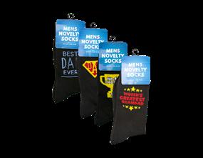 Wholesale Fathers Day Novelty Socks | Gem Imports Ltd