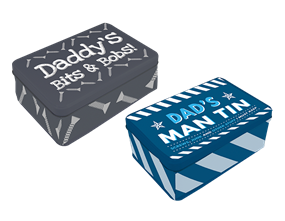 Father's Day Printed Novelty Tin