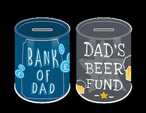 Father's Day Money Tin