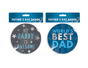 Father's Day Badge