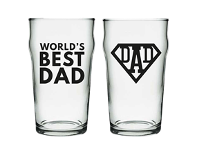 Father's Day Pint Glass in Gift Box