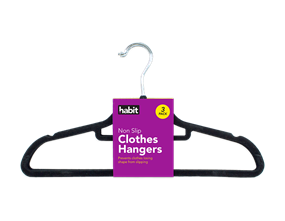 Wholesale Flocked Coat Hangers | Gem Imports Ltd