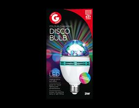 Colour Changing Disco Bulb ES/E27